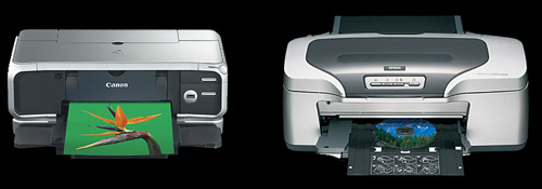 Canon Pixma IP8500 and the Epson R800